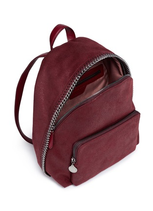 - Stella McCartney - 'Falabella' small shaggy deer backpack