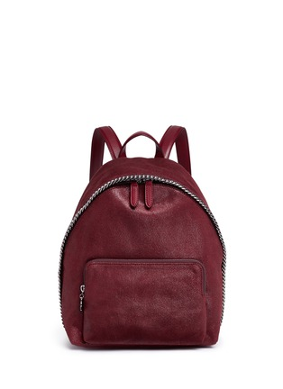 Main View - Click To Enlarge - Stella McCartney - 'Falabella' small shaggy deer backpack