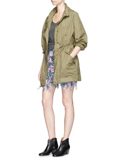 Isabel Marant Étoile 'Carman' hooded waterproof windbreaker jacket