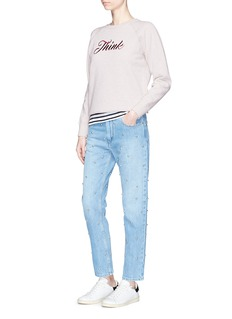 Isabel Marant Étoile 'Lilly' Think embroidered sweatshirt
