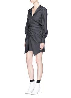 Isabel Marant Étoile'Nolla' wrap front shirt dress