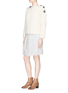 Isabel Marant 'Velma' stripe high waist skirt