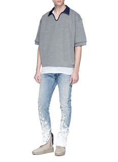 Fear of God 'The Indigo Painters' bleached jeans