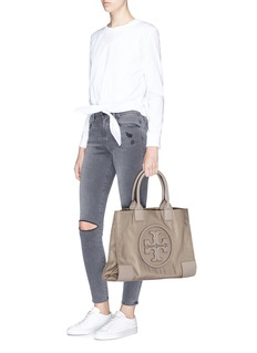 Tory Burch 'Ella' mini stud nylon tote