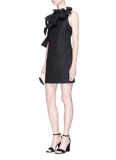 C/Meo Collective  'Sweet Devotion' bow embellished one-shoulder dress