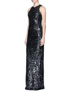 Galvan LondonSequin lamé gown