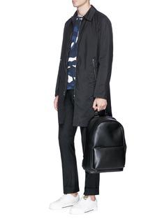 ValentinoButton vent zip coat