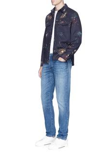 ValentinoFireworks print shirt jacket