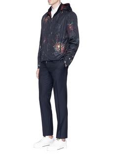 Valentino Fireworks print reversible windbreaker jacket