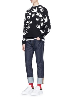 McQ Alexander McQueen'Swallow Swarm' print sweatshirt