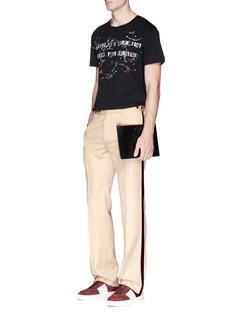 Valentino x Jamie Reid bead slogan print T-shirt