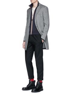 MonclerContrast zip track jacket