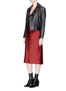 Helmut Lang Satin camisole dress
