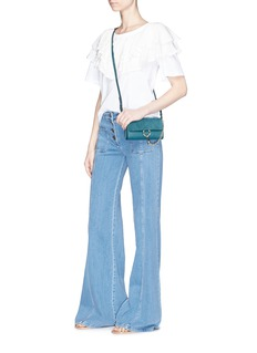 Chloé Flared leg denim pants