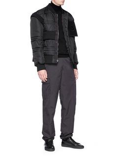 Moncler Capsule x Craig Green 'Richie' storm flap down bomber jacket