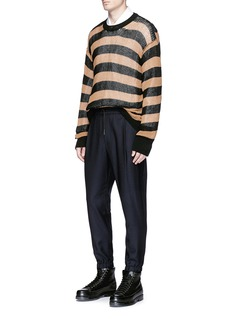 McQ Alexander McQueen Drawstring suiting jogging pants