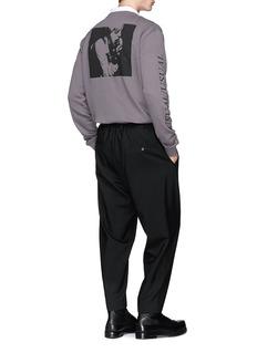 McQ Alexander McQueen 'Gig Poster' slogan print sweatshirt