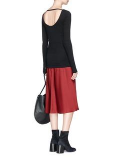 Helmut Lang 'Ballet' modal-pima cotton sweater