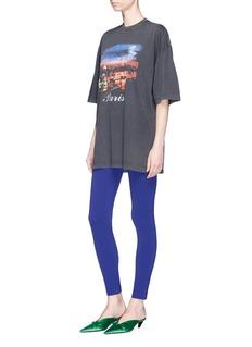 Balenciaga Paris print oversized cotton T-shirt