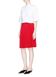 Balenciaga'Top to Skirt' pleated skirt