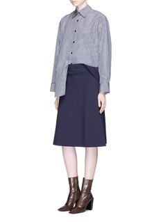 Balenciaga Multi styling crepe skirt