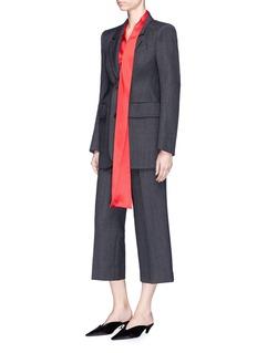 Balenciaga 'Hourglass' virgin wool herringbone suiting jacket