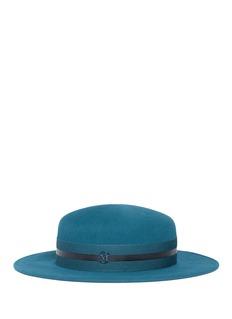 Maison Michel 'Rod' rabbit furfelt canotier hat