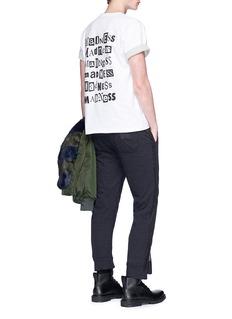 Sacai 'Madness' print T-shirt