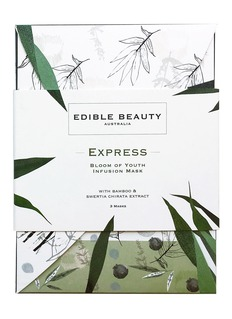 Edible Beauty Australia Express: Bloom of Youth Infusion Mask 3-piece pack