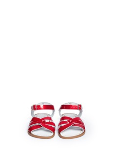 Salt-Water'Original' youth patent leather sandals