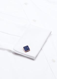 Babette WassermanStone square cufflinks