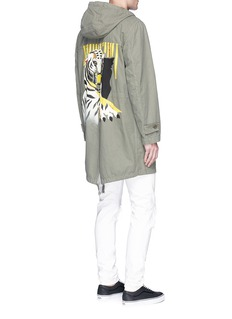 The EditorTiger embroidered military jacket