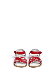 Salt-Water'Original' kids patent leather sandals