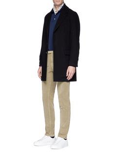 Barena Brushed twill coat