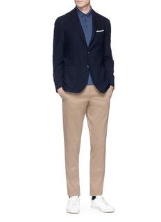 Lardini Wool-cashmere soft blazer