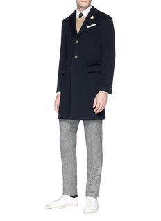 Lardini Felted wool coat