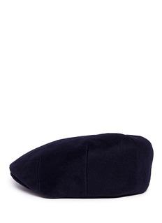 Lock & Co Loden messenger boy cap