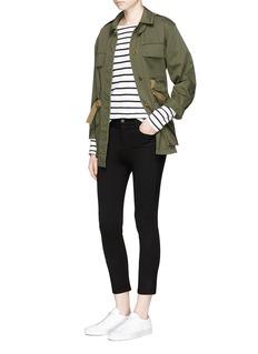 L'Agence'Gigi' high waist skinny pants