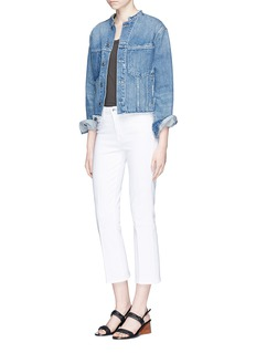 L'Agence 'Serena' cropped flared jeans