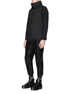The Viridi-anne Waterproof zip down vest