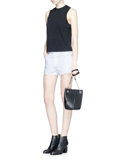 rag & bone/JEAN Mock neck slub jersey tank top