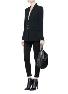Alexander Wang  Split cuff single breasted blazer