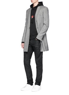 Saint Laurent Raw slim fit jeans