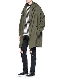 NSF 'Klein' oversized twill coat