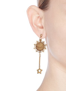Chloé 'Coins' mismatched earrings