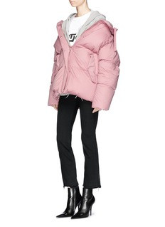 Moncler 'Nerium' hooded down puffer jacket