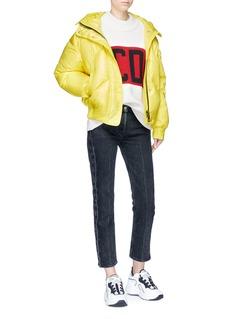 Ienki Ienki Hooded down puffer jacket
