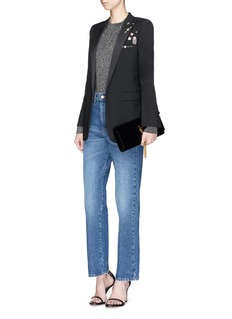 Saint Laurent Metallic sweater