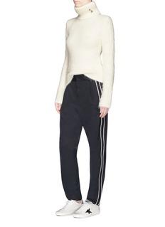 Saint Laurent Sports stripe wool suiting pants