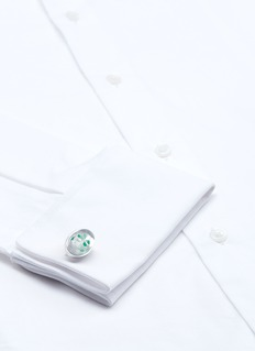 Tateossian Four leaf clover cufflinks